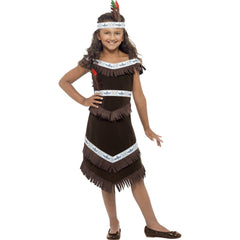 Native American Inspired Girls Costume