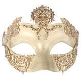 Isha with Gold Detail Eye Mask