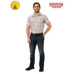 Jim Hopper Stranger Things Hawaiian Costume-Adult