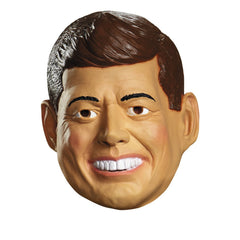 Adult Deluxe Latex Mask John Kennedy American President