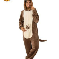 Kangaroo Furry Onesie Adult Costume