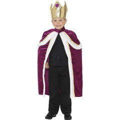 Kiddy King Cape and Crown
