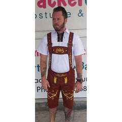 Klaus Bavarian Costume - Brown