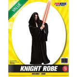 Knight Robe Black - Adult