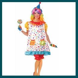 Ladies Costumes - Circus & Clowns