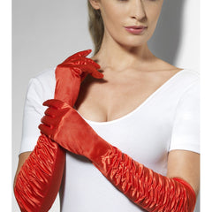 Ladies Red Gloves