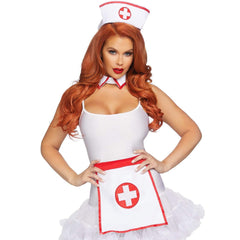 3 Pc Nurse Kit by Leg Avenue