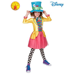 Mad Hatter Girls Deluxe Costume - Tween