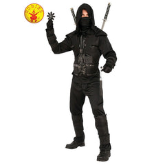 Dark Ninja Costume-Adult