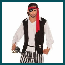 Mens Costumes - Pirates
