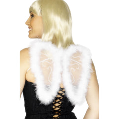 Mini Glitter Angel Wings