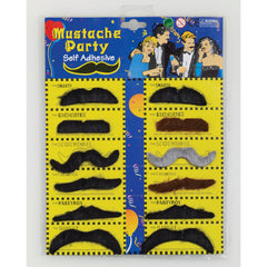 Moustache Card - Pack of 12