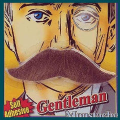 Moustache-Gentlemans Brown/Black/Grey