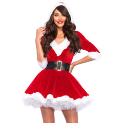 Mrs Claus Costume by Leg Avenue - Hire