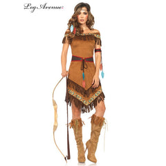 Native American Indian Princess Costume by Leg Avenue