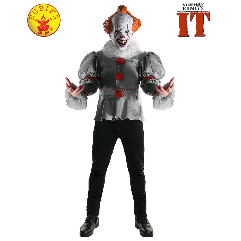 pennywise it deluxe costume cracker jack costumes brisbane