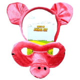Pig  Headband & Mask Set