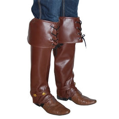 Pirate Boot Covers - Brown