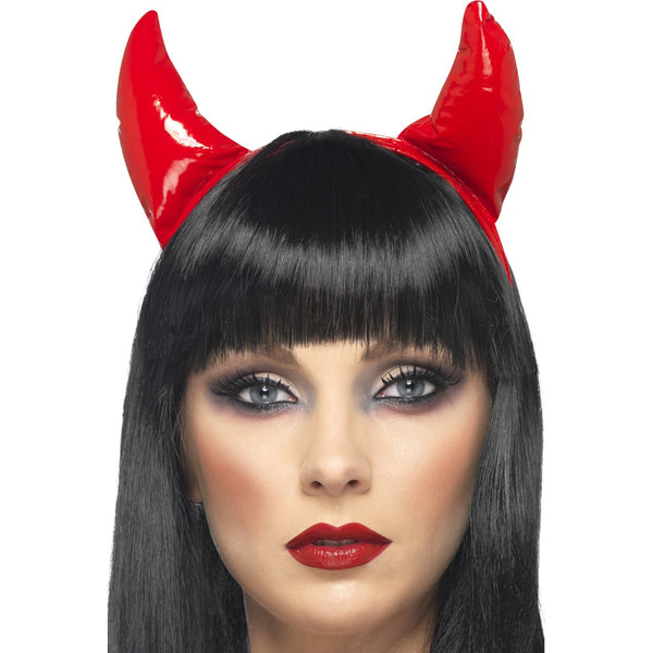 PVC Red Devil Horns