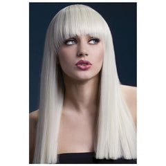 Long Straight Blonde Wig - Alexia