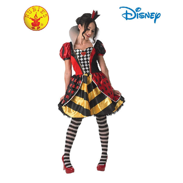 Red Queen of Hearts Costume - Adult