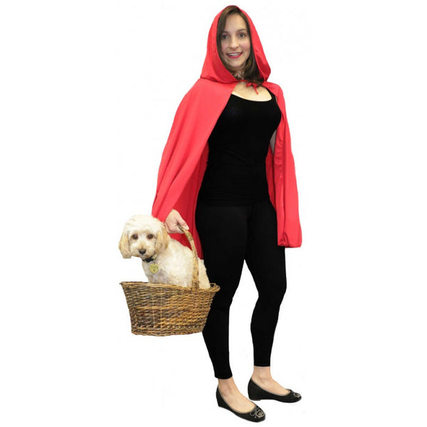 Red Riding Hood Cape with Hood