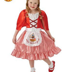 Red Riding Hood Costume - Child Size 9-10
