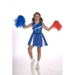Sassy Blue Cheerleader Costume-Child