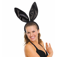 Deluxe Satin Bunny Ears on Headband