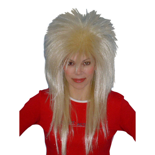 Spiky Vamp Wig-Blonde