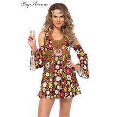 Starflower Hippie Costume by Leg Avenue