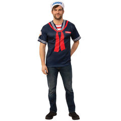 Steve Stranger Things Scoops Ahoy Costume-Mens