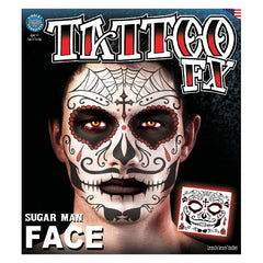 Tinsley FX Full Face Temp Tattoo - Sugar Man