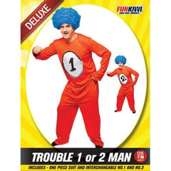 Trouble 1 or 2 Man Costume
