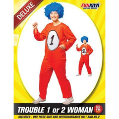 Trouble 1 or 2 Woman Costume