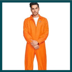 Prison Jumpsuit - Mens Hire
