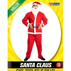 Value Santa Claus Costume