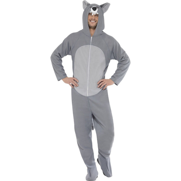 Wolf Costume with Hooded All in One