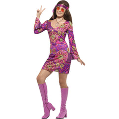 Woodstock Hippie Ladies Costume
