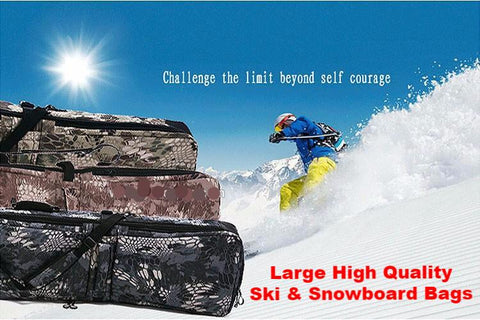 Big, high-quality Ski and Snowboard bag with Protective Pouch