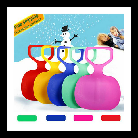 Children's Snow Sled with Thickened Plastic