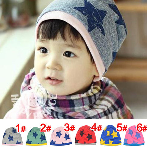 Five Star Cotton Beanie Hats and Skull Caps for Children