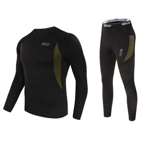 Men's Quick Dry Polartec Long Johns/Thermal Underwear and Jacket