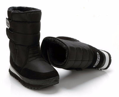 Men's Thick Fur Lining Winter Boots