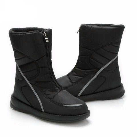 Men's Waterproof Anti-Skid Winter Snow Boots with Fur