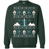 Frozen Ugly Sweater  Printed Crewneck Pullover Sweatshirt  8 oz