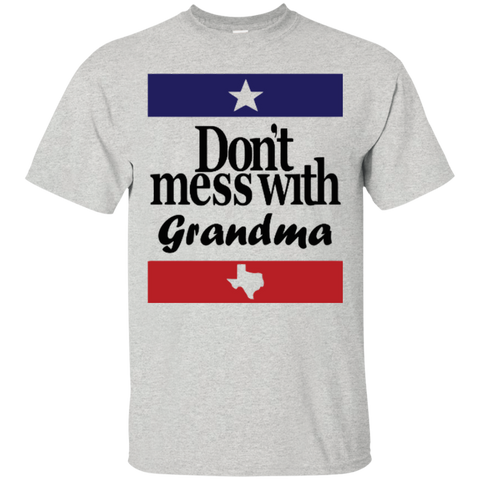 """Don't Mess with Grandma"" Texas T-shirt - Short Sleeve"