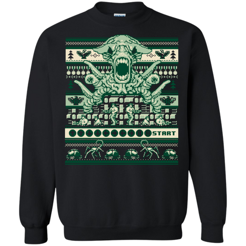 A Contra Family Christmas  Printed Crewneck Pullover Sweatshirt  8 oz - Crewnecks