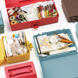 Tenma Hacotto Multifunctional Portable Storage Tool Box - L Size