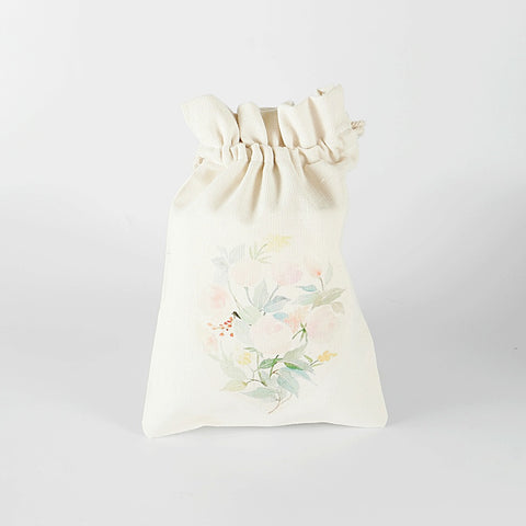 Garden of Flowers Canvas Pouch